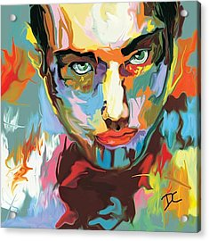 Intense Face 2 Acrylic Print