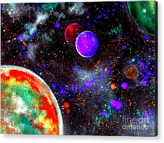 Intense Galaxy Acrylic Print by Bill Holkham