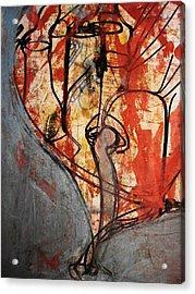 Intensify Acrylic Print by Hugo Razlerfight