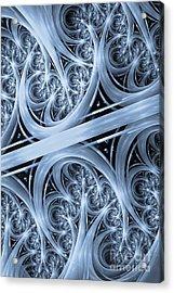 Interchange Cyanotype Acrylic Print