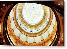 Acrylic Print featuring the photograph Interior Denver Capitol by Marilyn Hunt