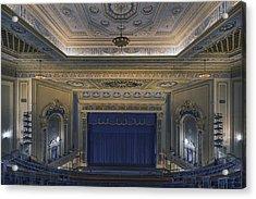Interior Of The Perot Theatre In Texarkana Acrylic Print by Carol M Highsmith