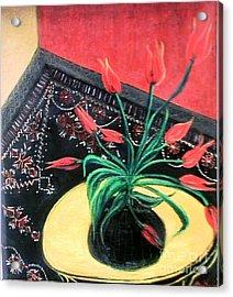 Interiors Acrylic Print by Duygu Kivanc