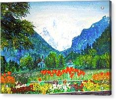 Interlaken Acrylic Print