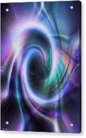 Acrylic Print featuring the drawing Internal Abstract by Tyler Robbins