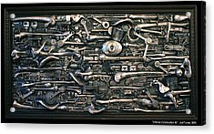 Internal Combustion 2 Acrylic Print by Jud  Turner
