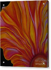 Internal Floral Acrylic Print by Sidra Myers