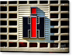 International Harvester Logo Acrylic Print by Olivier Le Queinec