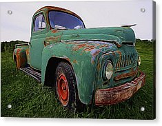 International Hauler Acrylic Print
