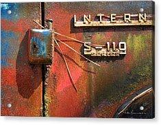International S-110 Acrylic Print