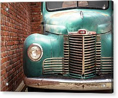 Acrylic Print featuring the photograph International Truck 2 by Heidi Hermes
