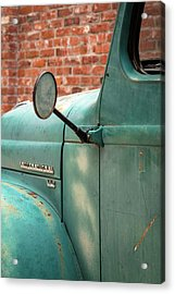 Acrylic Print featuring the photograph International Truck Side View by Heidi Hermes