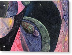 Interplanetary 1 Acrylic Print by Anne Marie ODriscoll