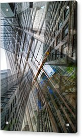 Intersection 10 Acrylic Print by Kevin Eatinger