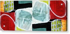 Intersection 37 Part 2- Art By Linda Woods Acrylic Print