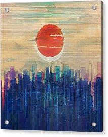 Intersection Acrylic Print by Mustafa Akgul