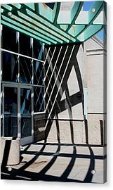 Intersections Acrylic Print by David S Reynolds