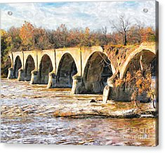 Interurban Bridge Acrylic Print