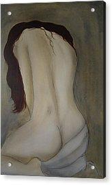 Intimacy Acrylic Print by Bridgette  Allan