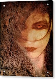 Into Dust Acrylic Print