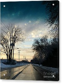 Into New Country Acrylic Print