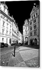 Acrylic Print featuring the photograph Into Prague Old Town Square by John Rizzuto