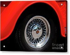 Into Summer Acrylic Print by Ronald Hoggard