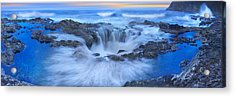 Into The Blue - Craigbill.com - Open Edition Acrylic Print by Craig Bill