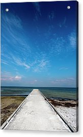 Into The Blue Acrylic Print by Marvin Spates