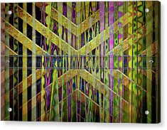 Into The Centre Of Yourself Acrylic Print by Nicole Frischlich