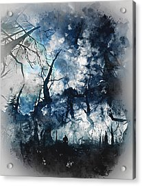 Into The Darkness - 01 Acrylic Print