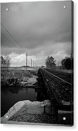 Into The Distance 2 Acrylic Print by Matthew Angelo