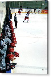 Into The Game Acrylic Print by Al Bourassa
