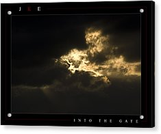 Into The Gate Acrylic Print by Jonathan Ellis Keys