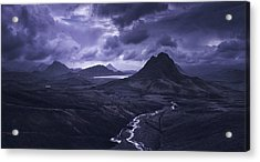 Into The Highlands Acrylic Print