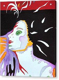 Into The Light Acrylic Print by Diana Bursztein
