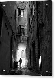 Into The Light, Florence, Italy Acrylic Print