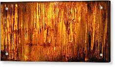 Into The Light Acrylic Print by Hengameh Kaghazchi