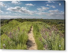 Into The Loess Hills Acrylic Print