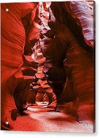 Into The Maze Acrylic Print