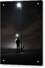Acrylic Print featuring the photograph Into The Mist by Digital Art Cafe