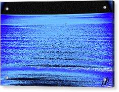 Into The Ocean Void Acrylic Print