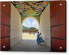 Into The Palace Acrylic Print