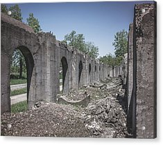 Into The Ruins 2 Acrylic Print