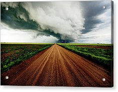Into The Storm Acrylic Print