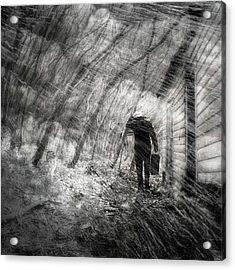 Acrylic Print featuring the photograph Into The Storm by Gray  Artus