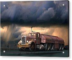 Into The Storm Acrylic Print by Stuart Swartz