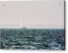 Into The Sunset 1 Acrylic Print by Alan Hausenflock