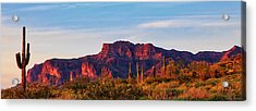 Into The West Acrylic Print