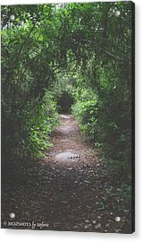 Into The Wormhole Acrylic Print